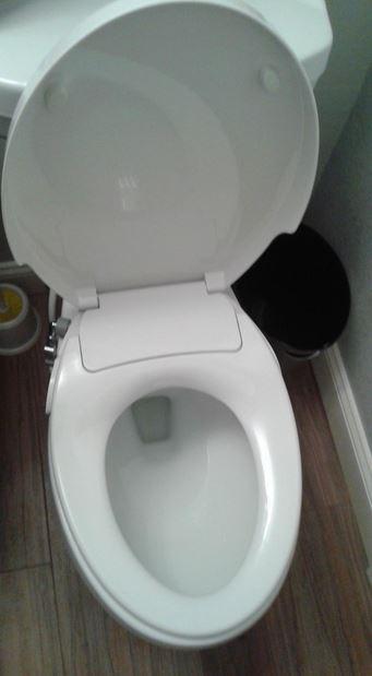 Stromloser Dusch WC Aufsatz Maro