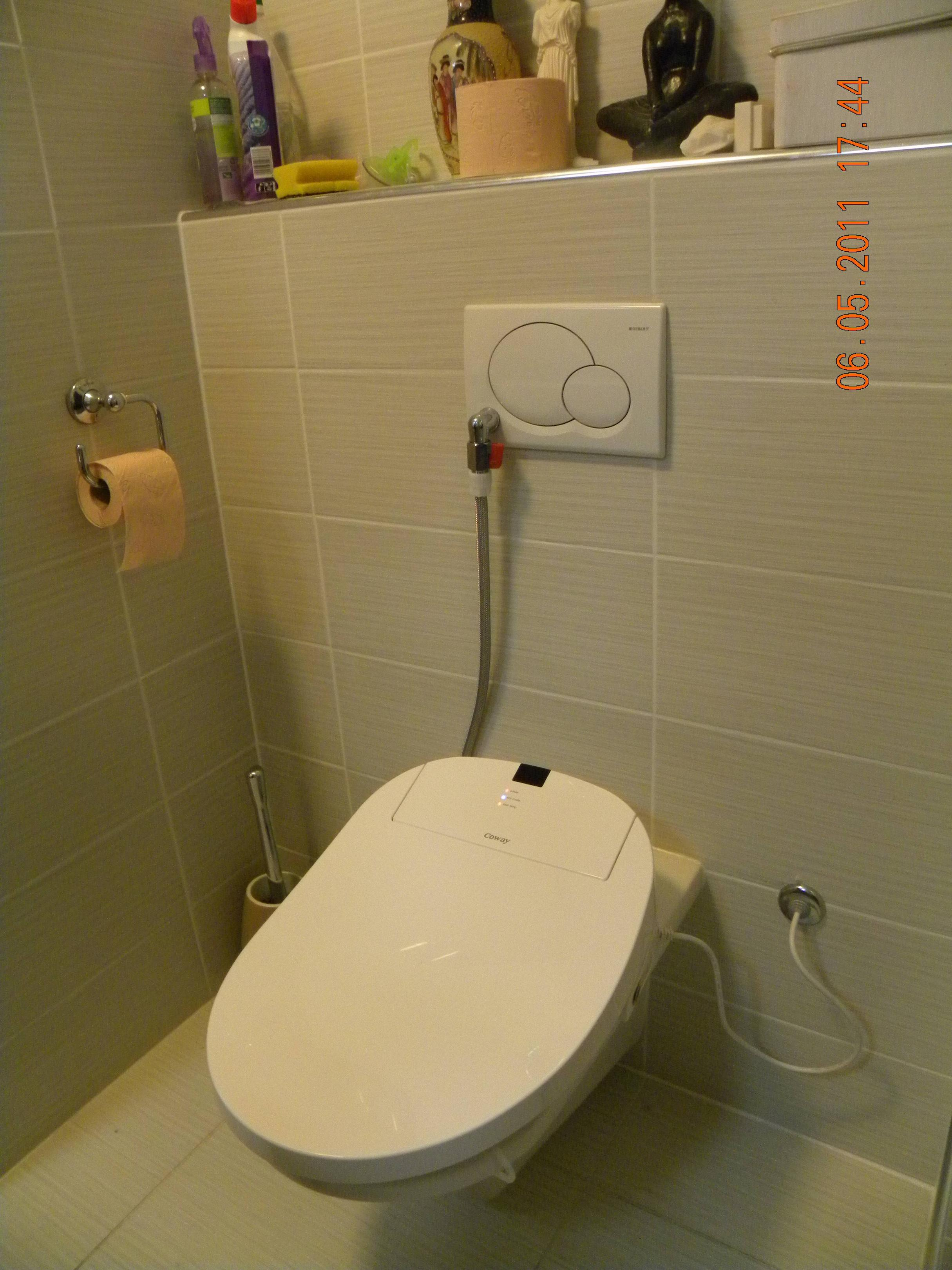 coway ba13 - dusch wc