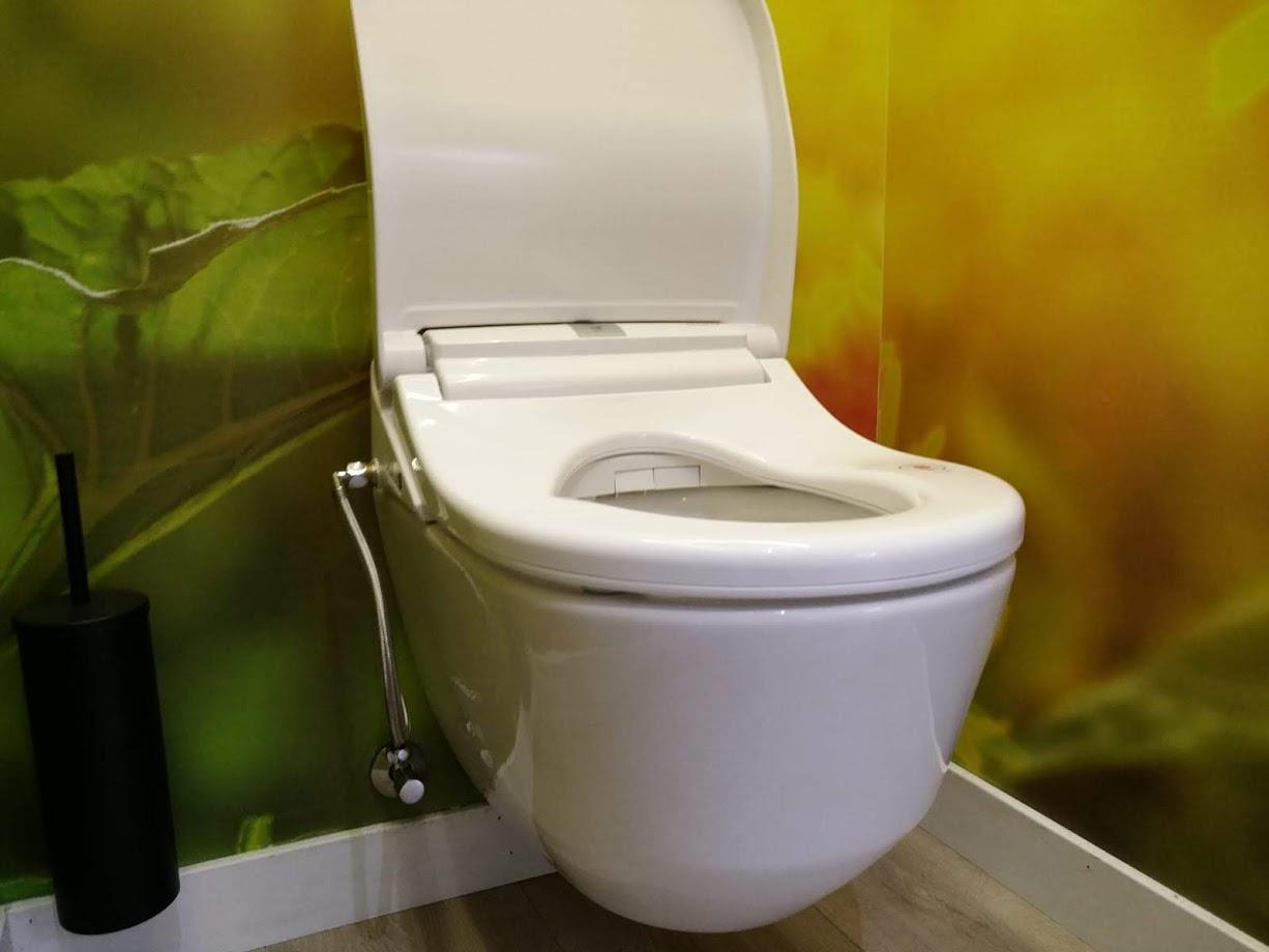 Maro D'Italia DI600 Dusch WC Aufsatz Sonnenblume  Montage #2