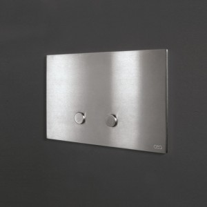 Hydroplate PLA01 Betätigungsplatte für 2 Mengen-Spülung