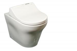 CW163Y  komplettanlage ohne spulrand washlet aquaclean di600