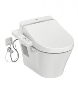 TOTO Kombination WASHLET EK 2.0 mit seitlichen Anschlüssen + TOTO WC ES wandhängend