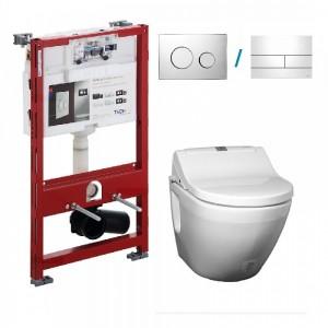 dusch wc aqualean Komplett Set