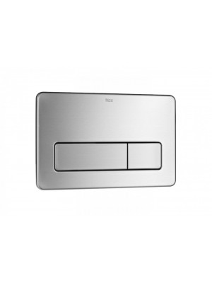 Roca WC-Betätigungsplatte PL3 DUAL- Edelstahl- 2 Mengen Spülung