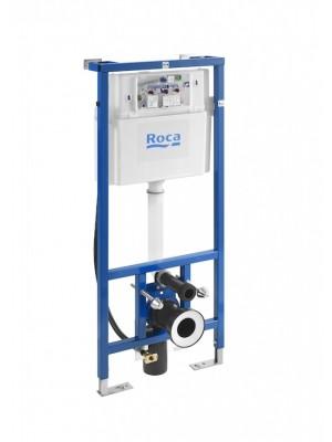 Roca DUPLO SMART WC - Element für Toiletten mit zwei Spülkasten für Roca In Wash Inspira wandhängende Toilette