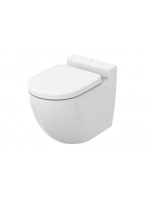 TOTO NC  CW763Y randloses ohne Spülrand Stand-Tiefspül-WC