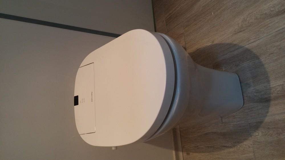 aqua clean aquaclean Stand WC erhöht  Behindertengerecht