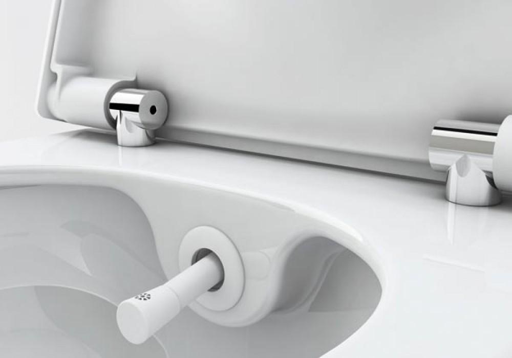TECEone WC-Sitz mit Deckel dusch wc
