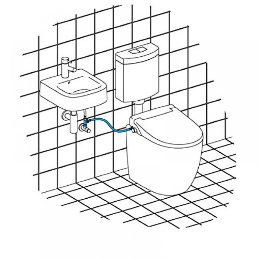 toilette mit dusche wc sitz nicht elektrisch maro fp104