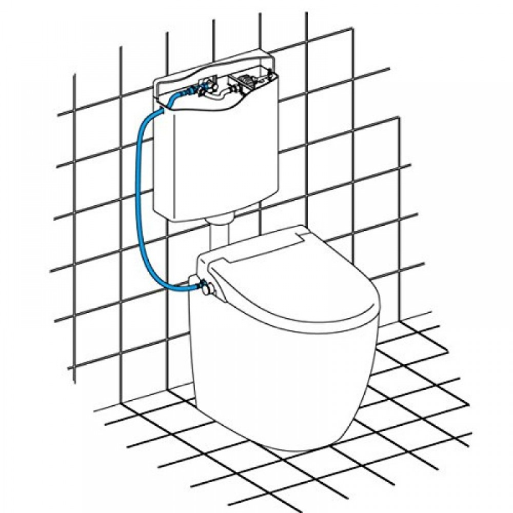 anschluss für wc sitz nicht elektrisch maro fp104