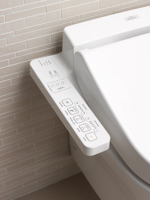 TOTO washlet EK 2.0 seitlichen anschlüssen