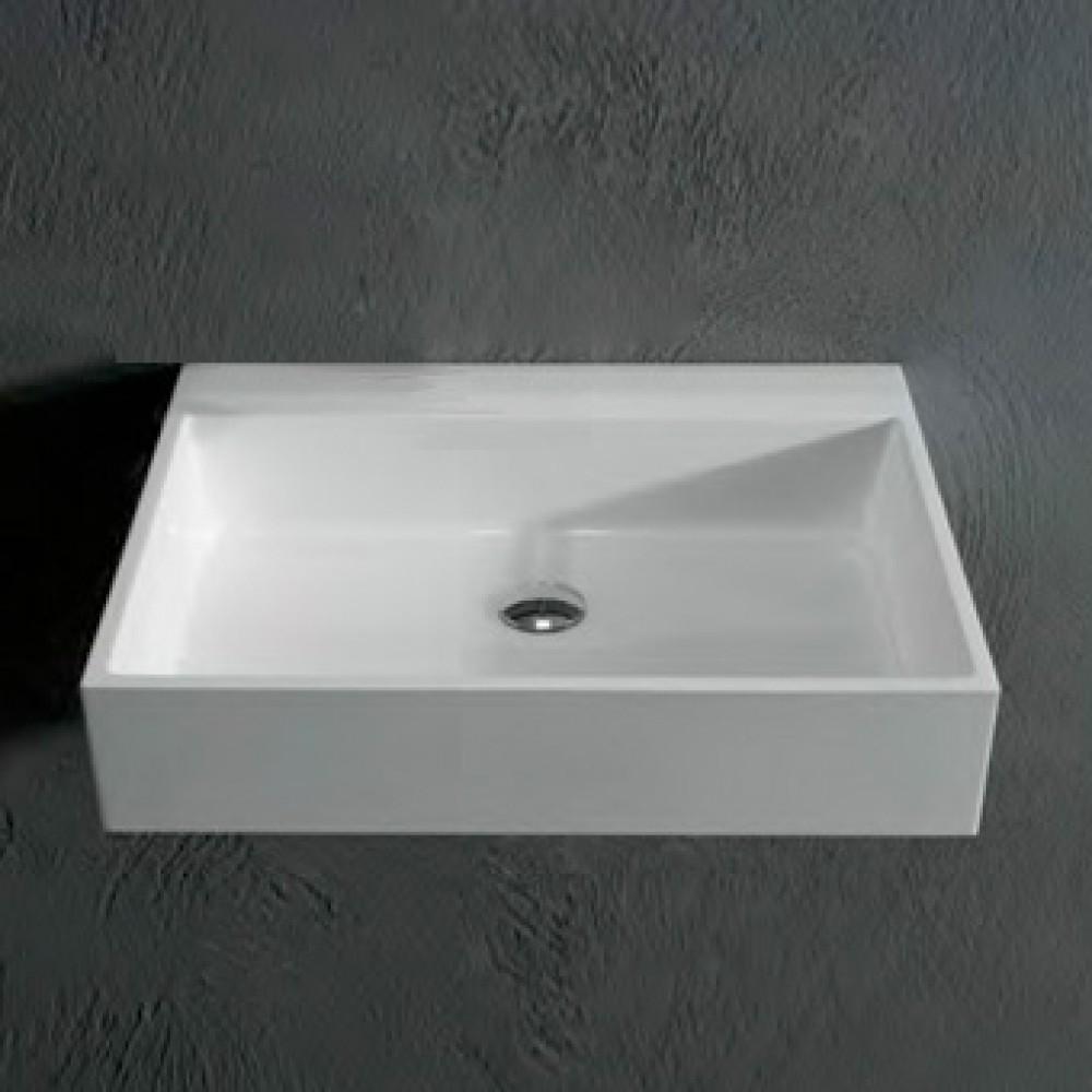 Antoniolupi gesto aufsatzwaschtisch - Aufsatzwaschbecken ohne hahnloch ...