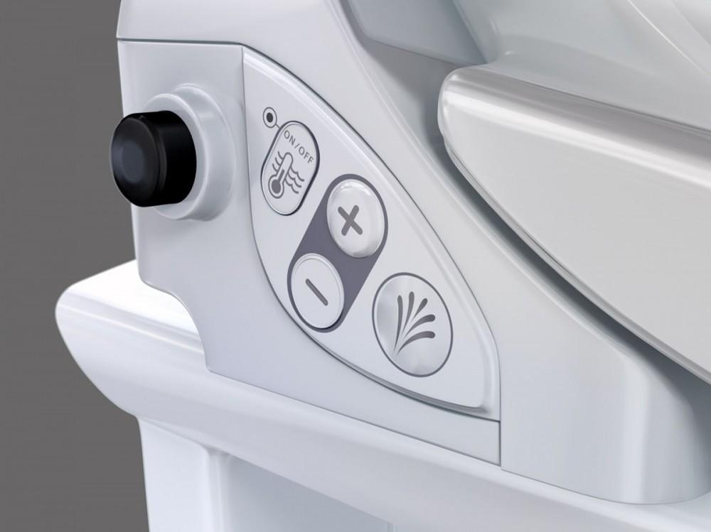 Geberit AquaClean 4000 Dusch-WC-Sitz mit Absenkautomatik soft-close