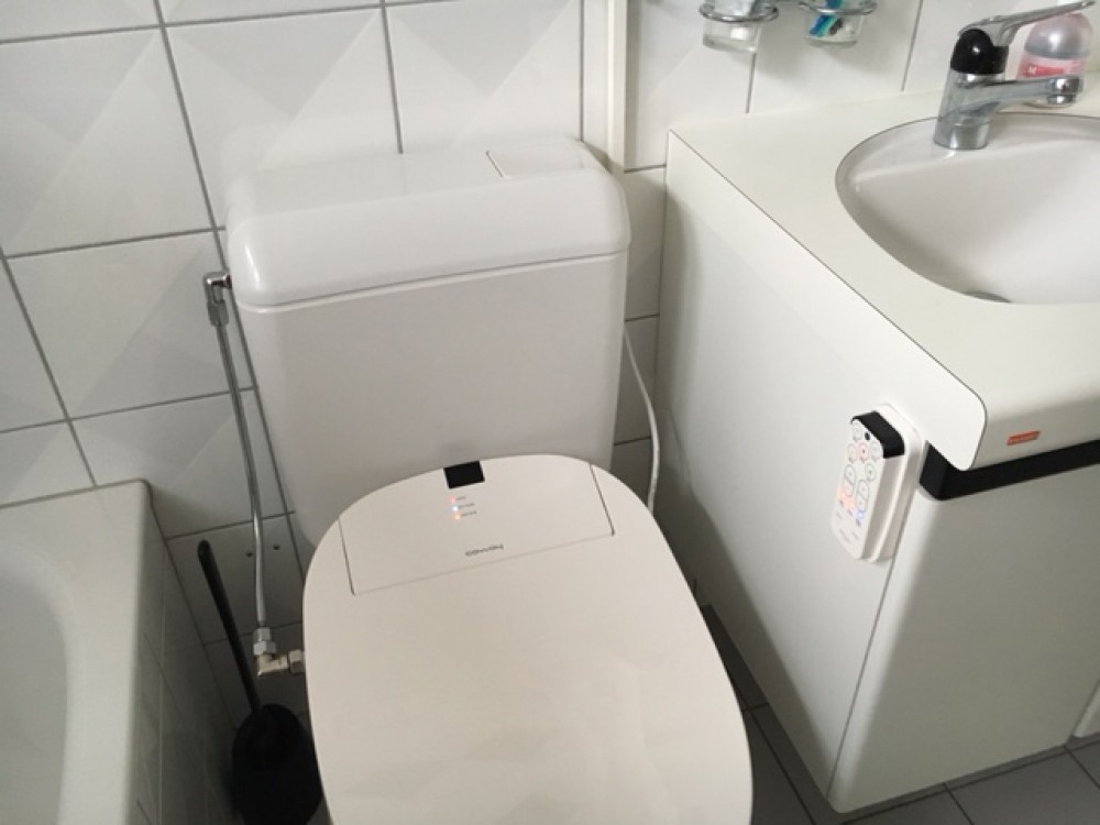 coway ba13 dusch wc kundenmontage