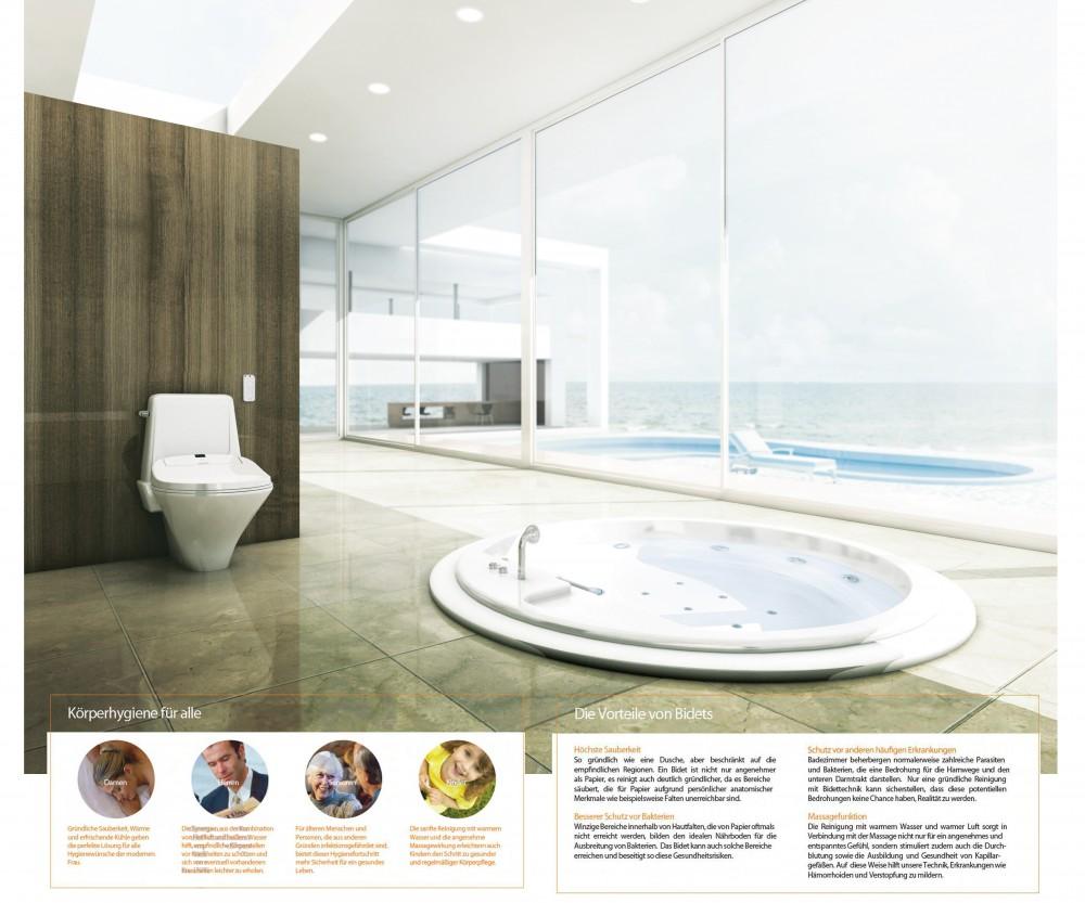 Coway ba13 washlet dusch wc