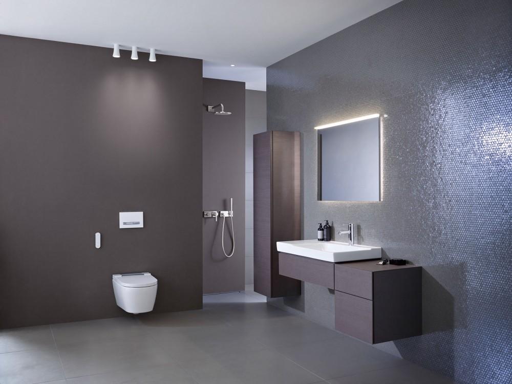 Wand WC Geberit Sela Komplettanlage