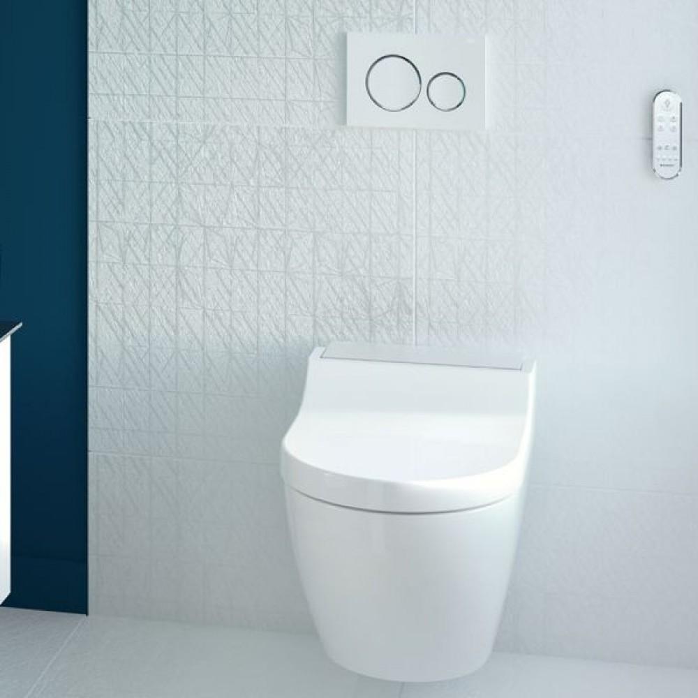 geberit aquaclean tuma classic wc aufsatz. Black Bedroom Furniture Sets. Home Design Ideas