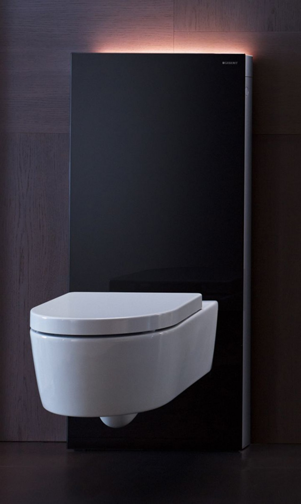 geberit monolith plus sanit rmodul f r wand wc h 101 cm schwarz. Black Bedroom Furniture Sets. Home Design Ideas