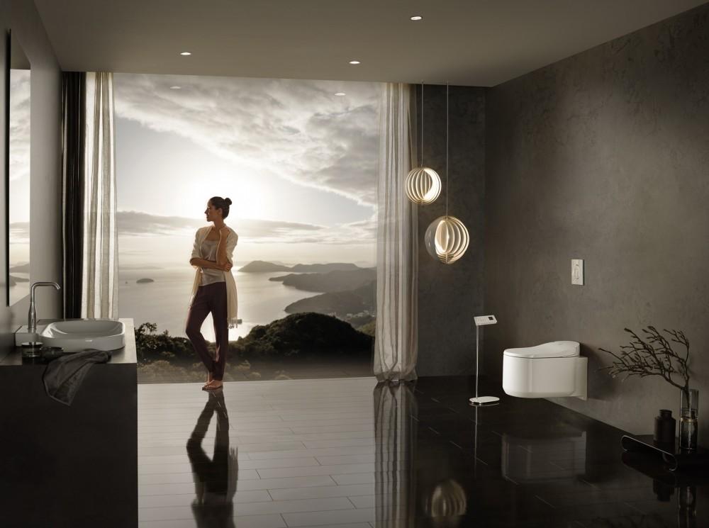GROHE neu reinigung dusch wc sensia arena