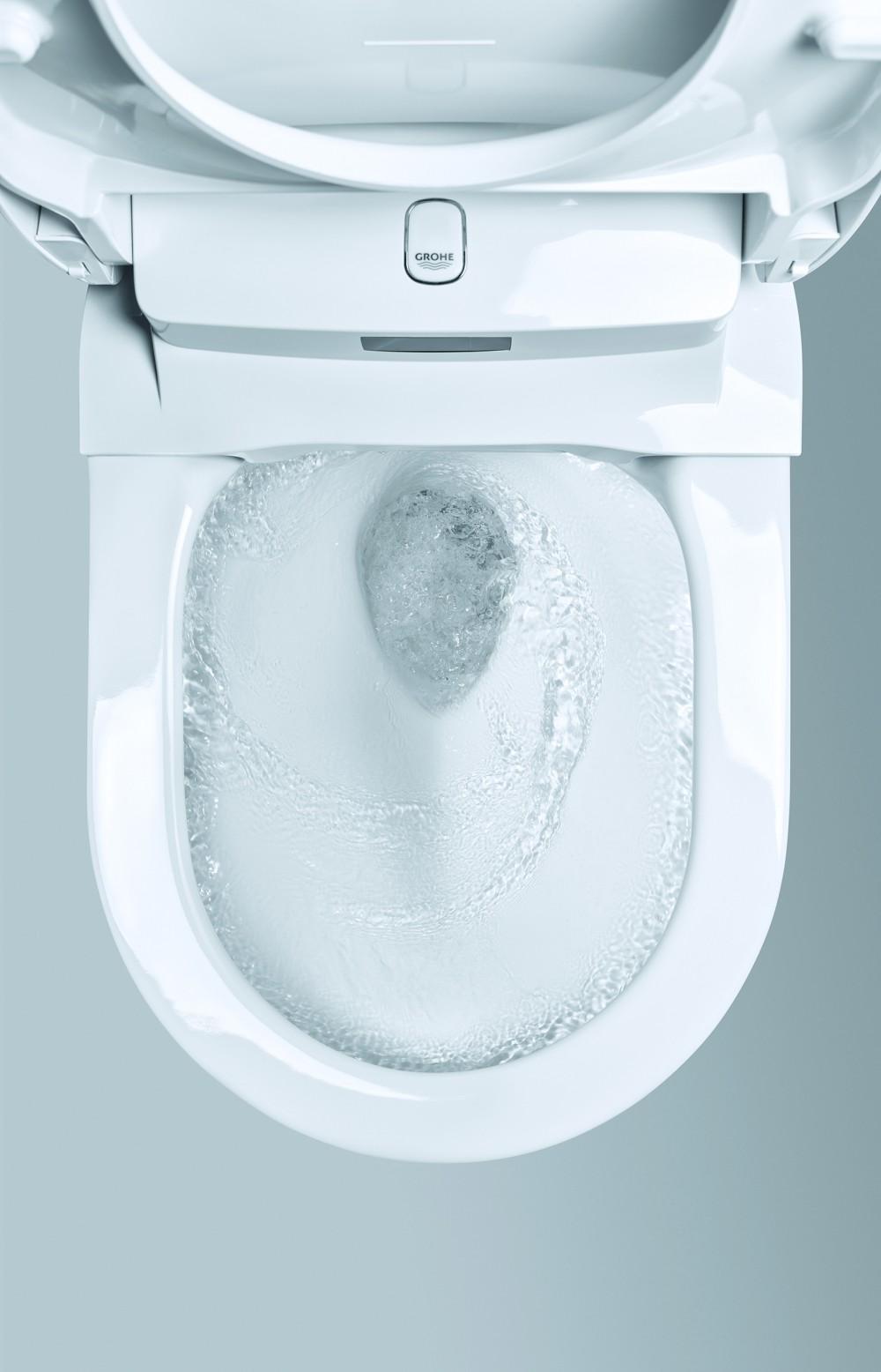 grohe sensia arena dusch wc spulrandlos ohne spulrand