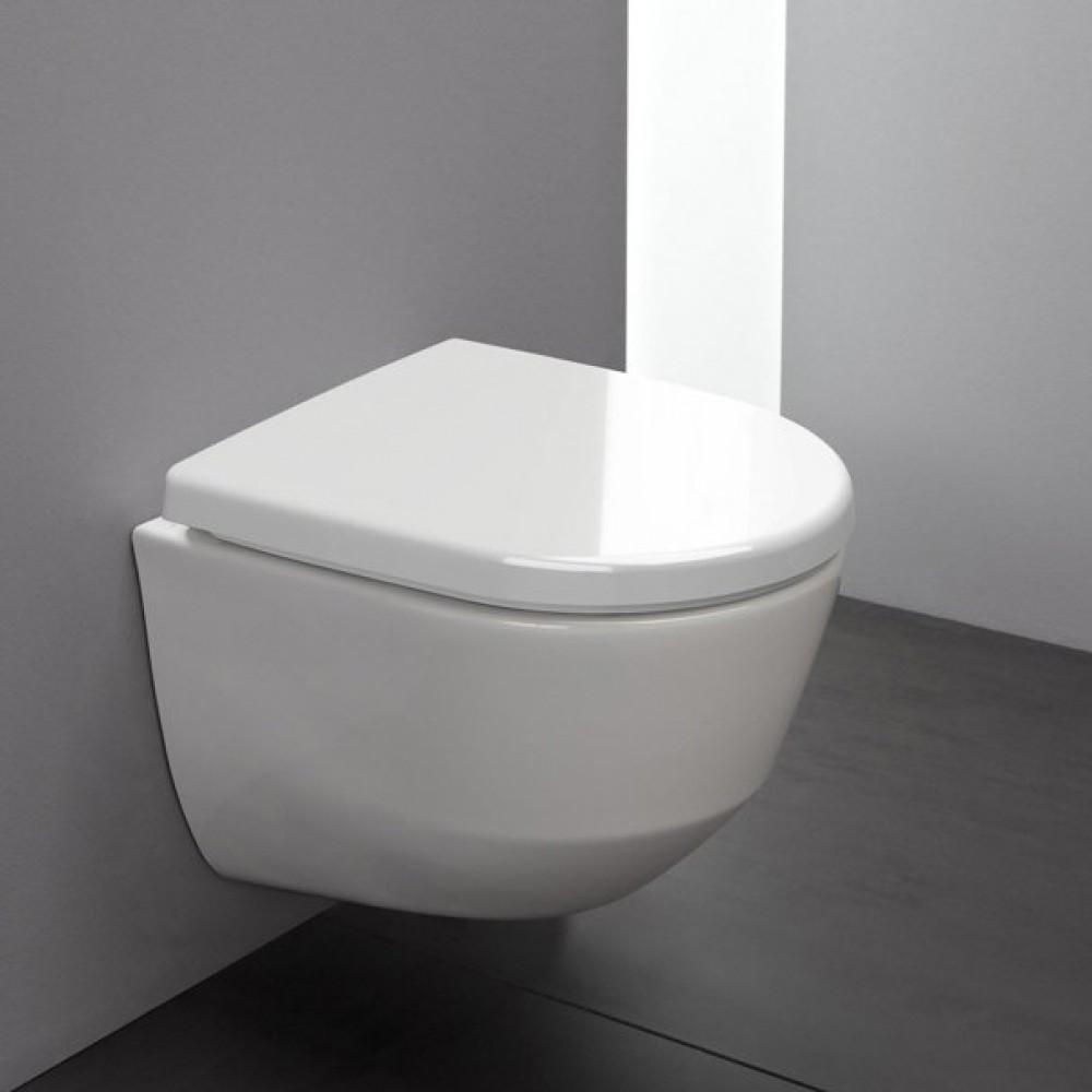 Laufen pro Wand-Tiefspül-WC spülrandlos weiß mit Clean Coat 8209664000001