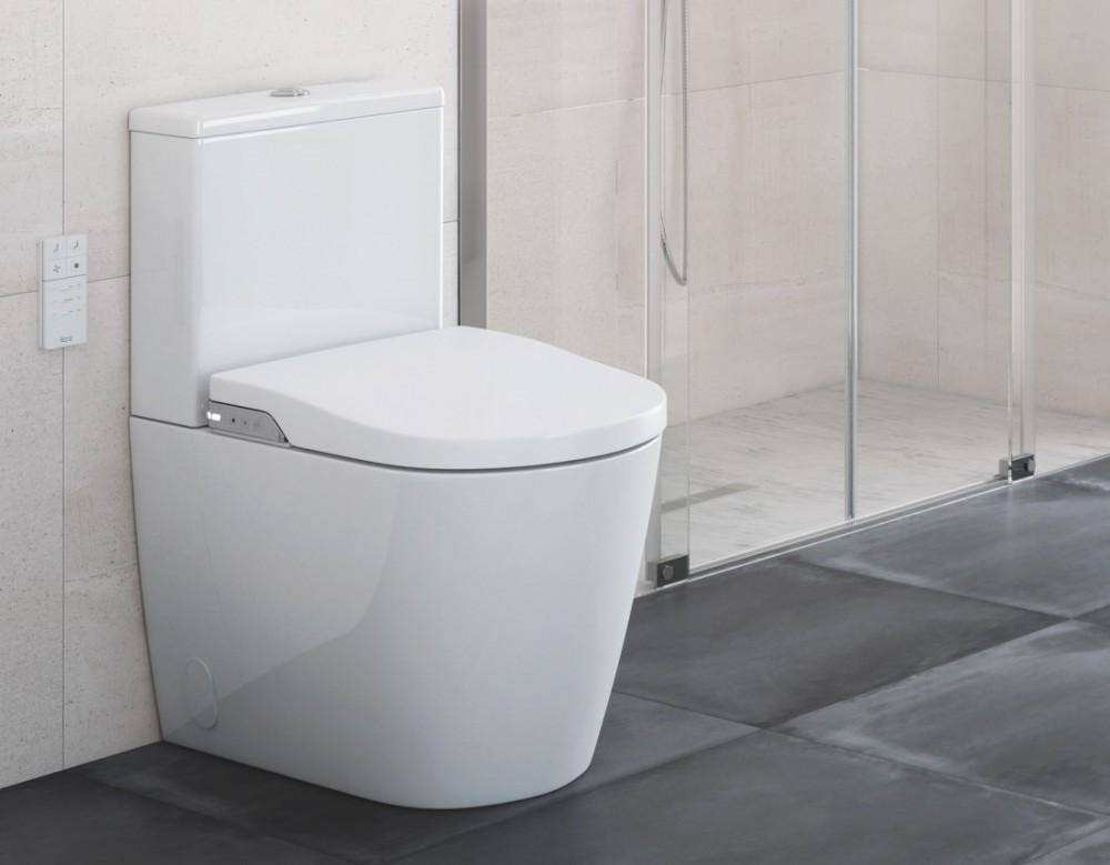 Roca Inspira In-Wash Stand-Tiefspül-WC Kombination