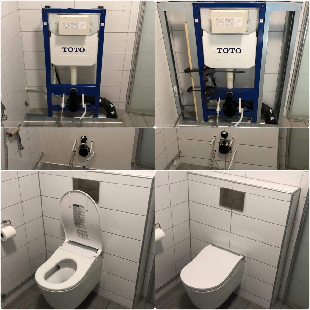 WASHLET™ RW auto flush inkl. Fernbedienung, für die automatische Spülung  Produktnummer: TCF802C2G