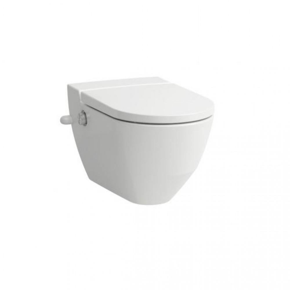 Laufen Cleanet Navia Dusch-WC Komplettanlage, mit seitlicher Öffnung und  seitlichem Wasseranschluss