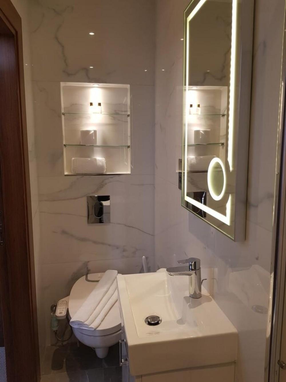 maro di800 duroplast dusch wc aufsatz