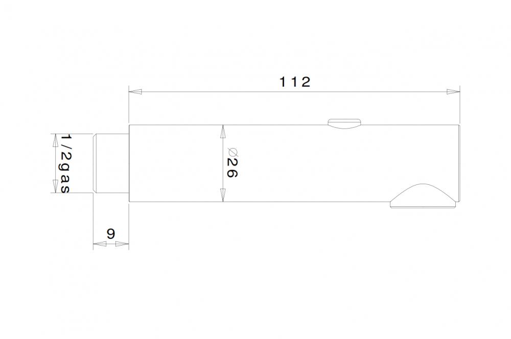 Skizze Handbrause SG203D