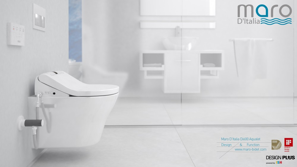 design award red dot di600 maro d'italia aqualet dusch wc