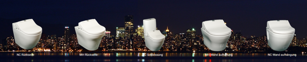 optionen kombinationen komplettanlage dusch wc