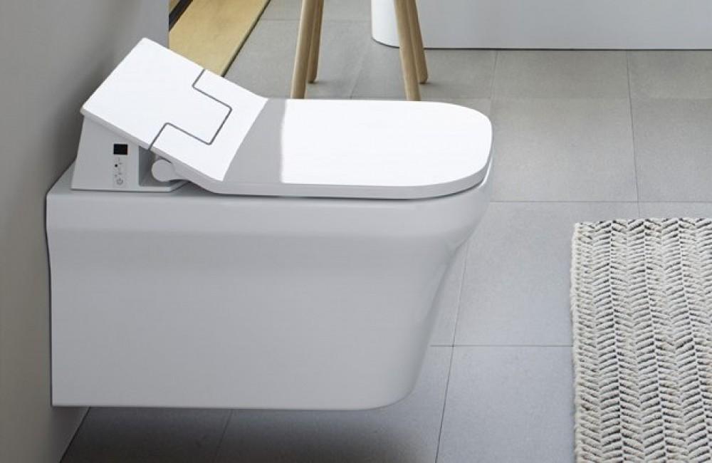 duravit sensowash slim dusch wc sitz 611200. Black Bedroom Furniture Sets. Home Design Ideas