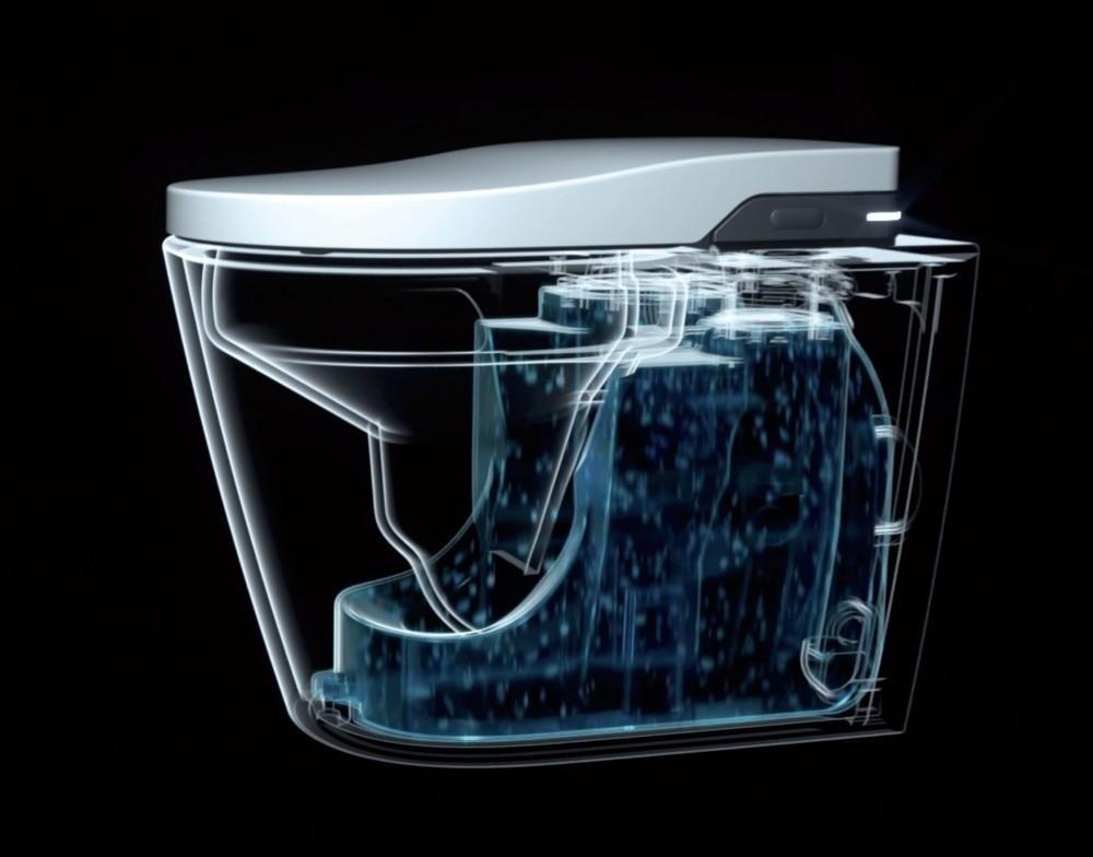 Roca In-Wash Inspira In-Tank eingebauter Spülkasten effektive Spülung