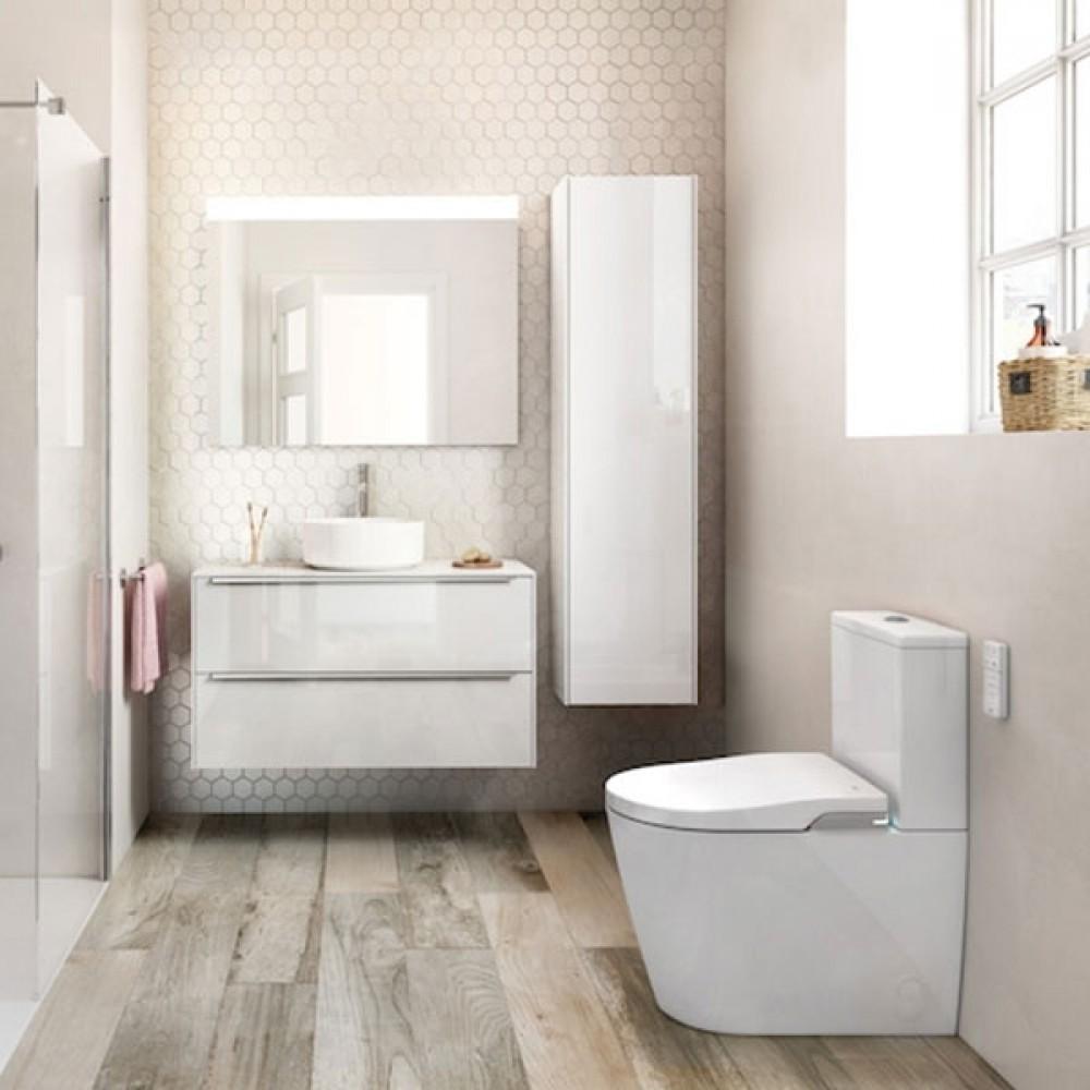 bodenstehende dusch wc und toilette wc keramik roca deutschland