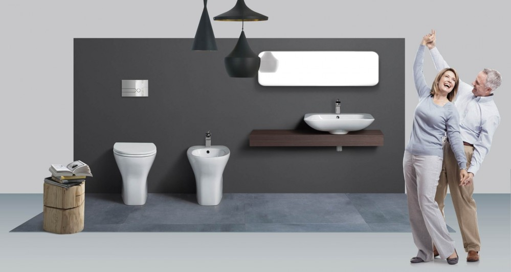stand wc saniTosco evolution comfort boden wc