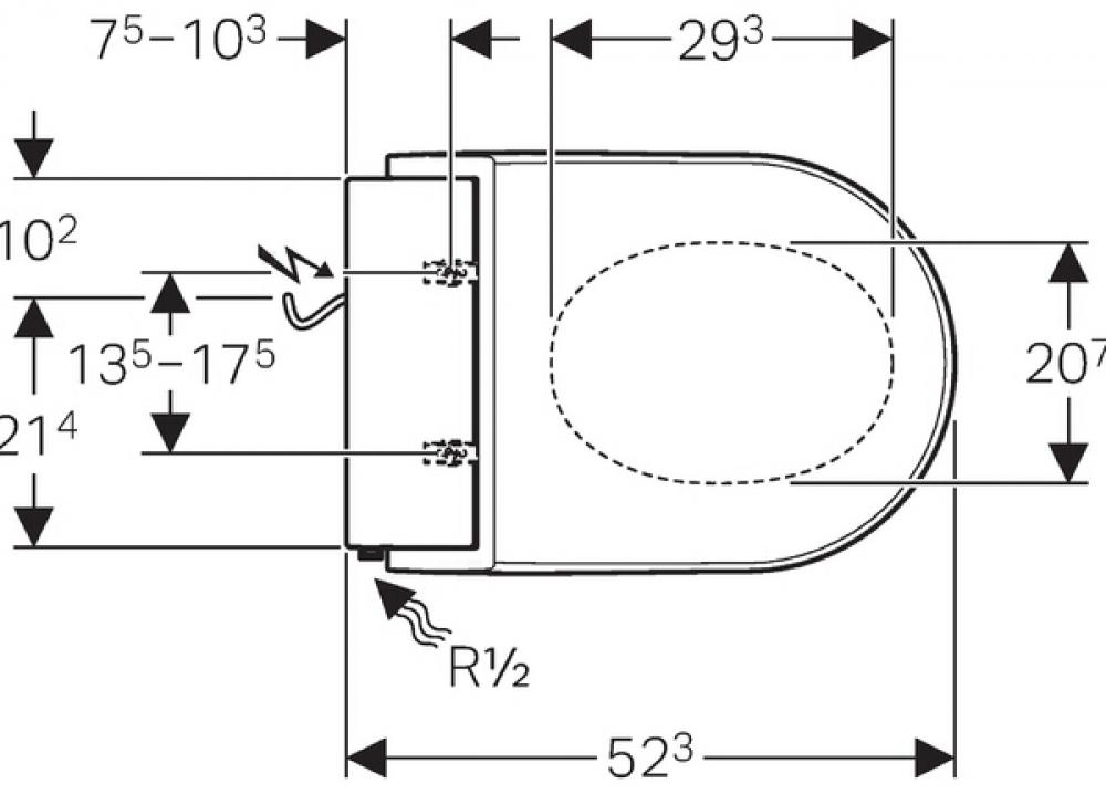 technische daten geberit aquaclean tuma