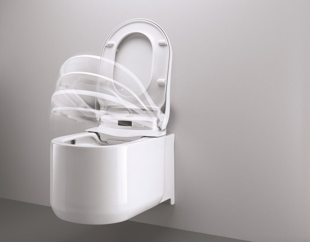 grohe arena dusch wc automatich offnen sitz deckel