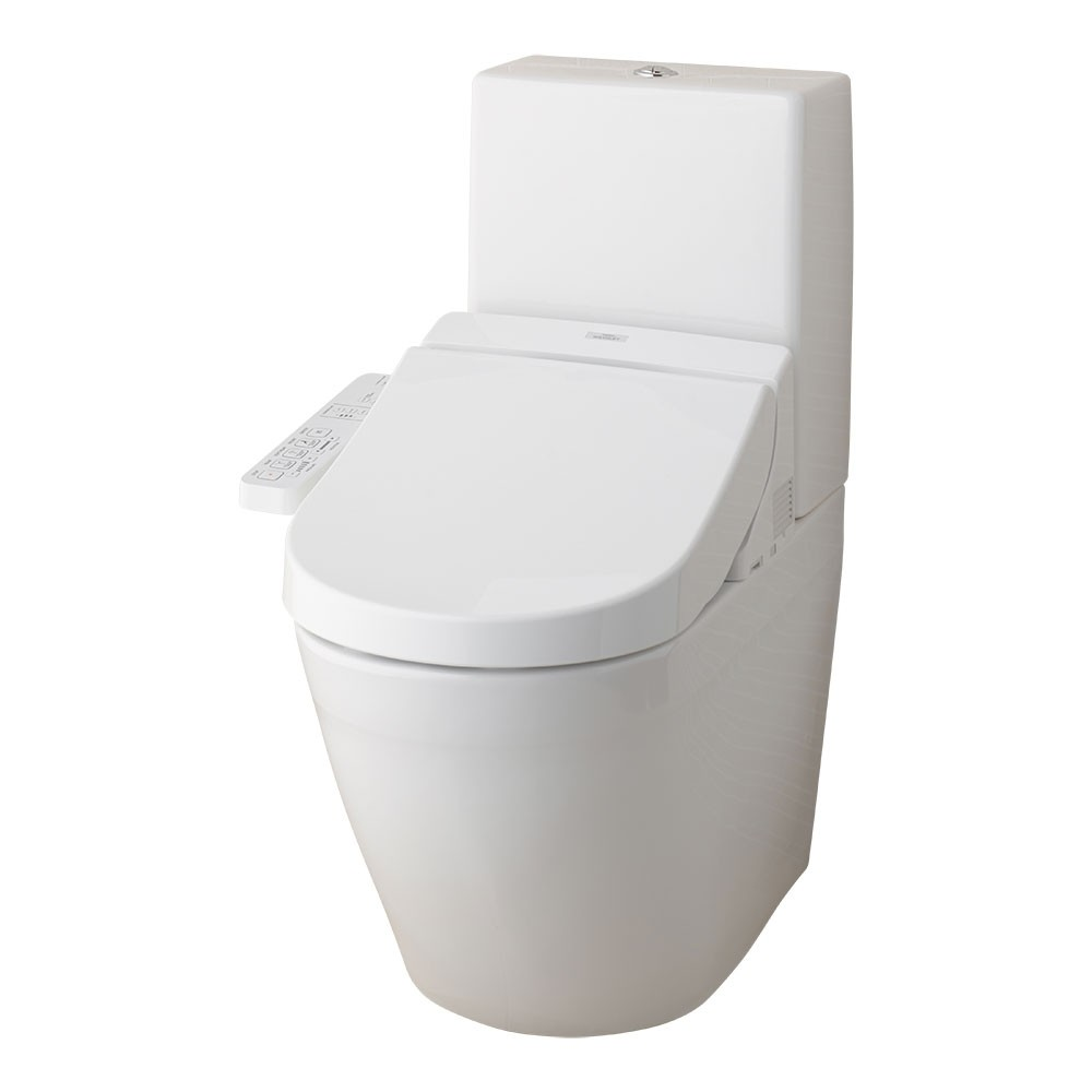Komplettanlage TOTO Kombination - Washlet EK 2.0 + WC MH CW161Y/SW10044G mit Spülkasten