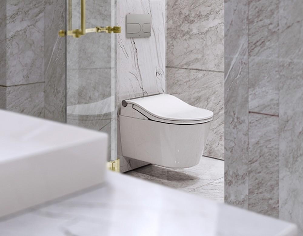 perfekte kombination wandhängend toto washlet rw
