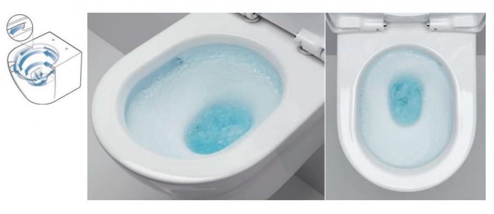 toto washlet spulrandlos wc tooaleta