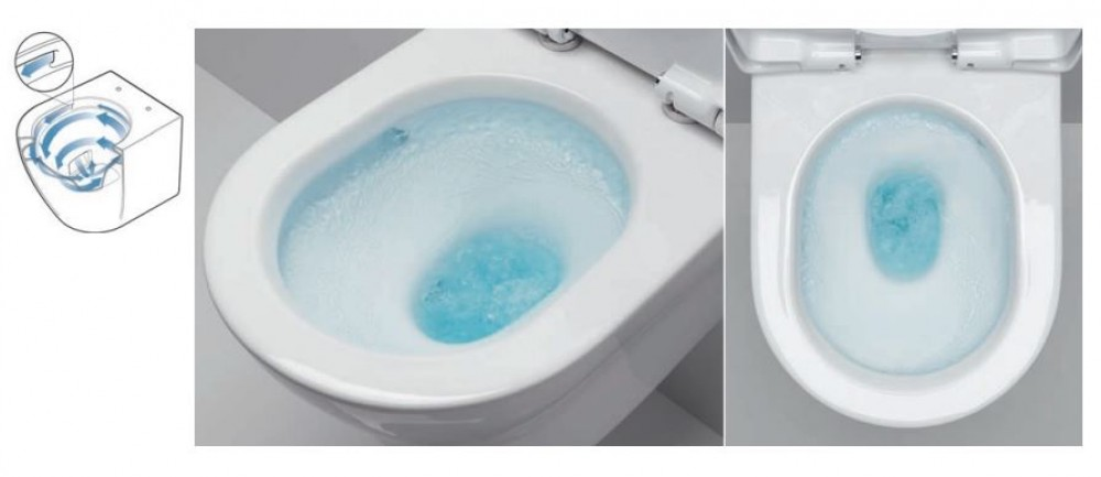 tornado flush spulrandlos tiefspuler wc toto tooaleta  ohne Spülrand
