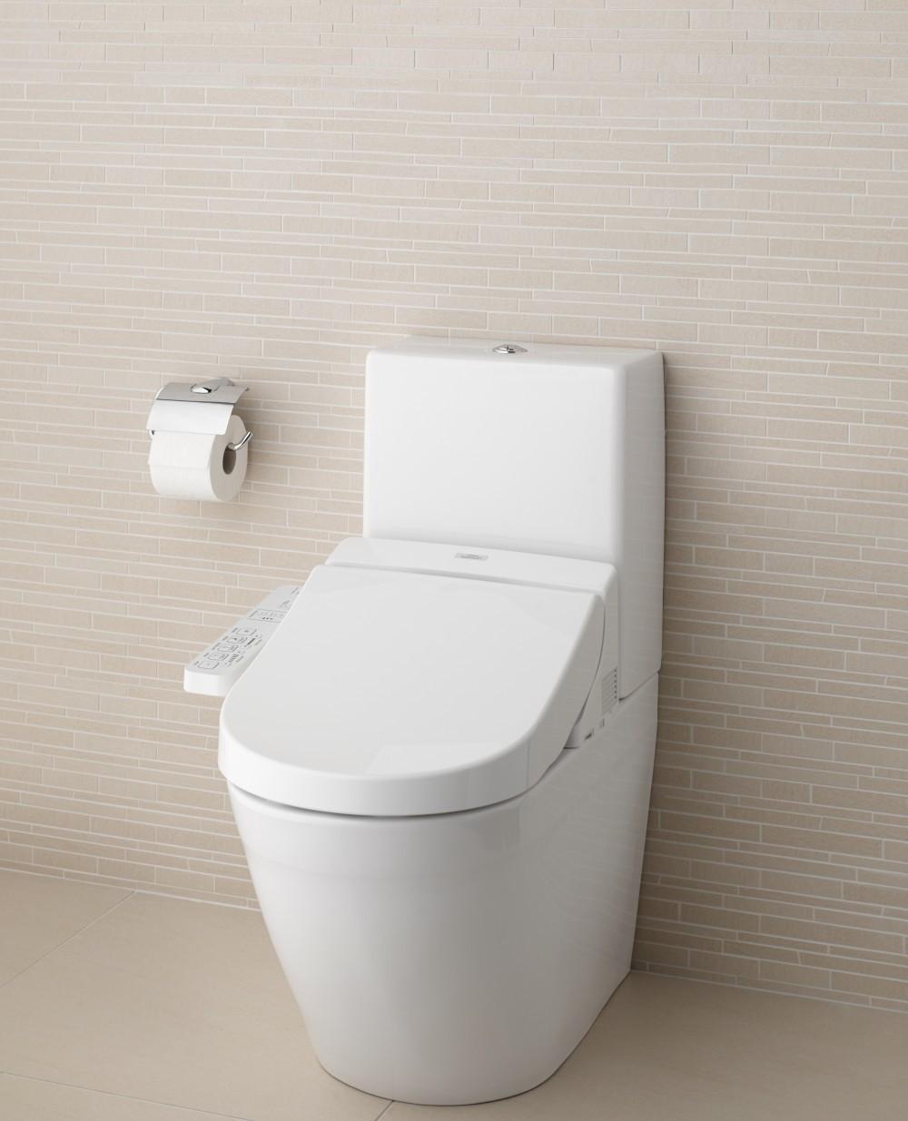 TOTO Kombination - Washlet EK 2.0 + WC MH CW161Y/SW10044G mit Spülkasten