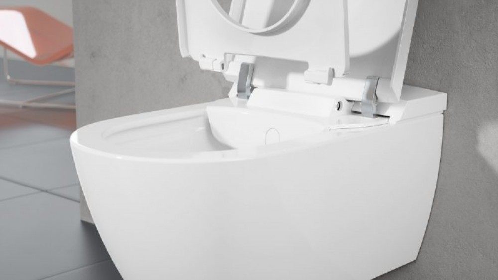 Hochwertige Materialien und Technologien sorgen für hygienische Sauberkeit des Dusch-WCs
