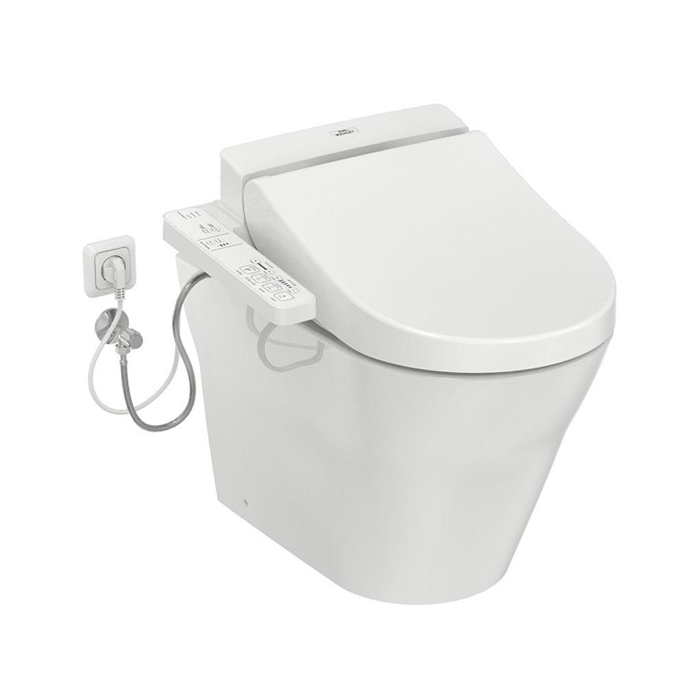 seitliche anschlüsse TOTO kombination washlet und wc