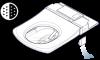 Der Deodorizer sorgt während und nach der Nutzung dafür, dass leistungsstarke Filter die Luft im WC-Bereich wirkungsvoll reinigen. Durch einen Grobfilter und einen ionisierten Kohlefaserfilter wird die Luft angesaugt, gereinigt und von unangenehmen Gerüch