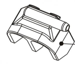 Rundrohr-Düsenstrahlauslass