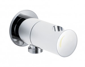 Maro D'Italia runder Duschhalter mit Sicherheitsverschluss und Wasserversorgung