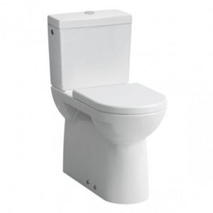 Laufen Pro Stand-Tiefspül WC in Kombination mit Laufen Pro Spülkasten