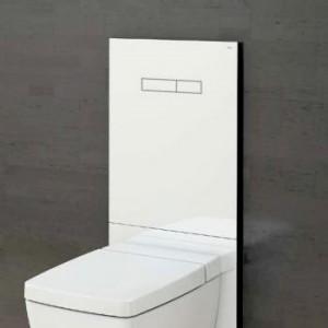TECE lux WC-Betätigungsglasplatte mit manueller Betätigung